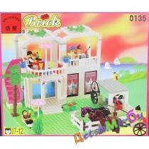 """""""Конст-р""""(Brick)/ Городок (аналог LEGO)"""
